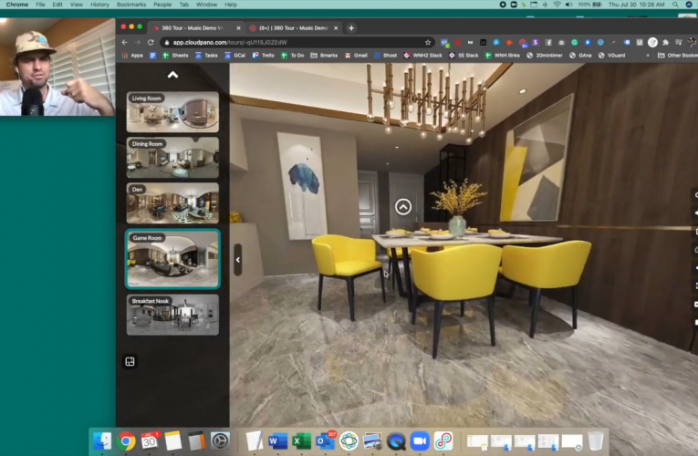 How To Add Custom Music and Sounds To Your Virtual Tour Software