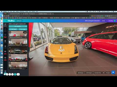 Use Community Custom Icons For Your Virtual Tours On CloudPano com