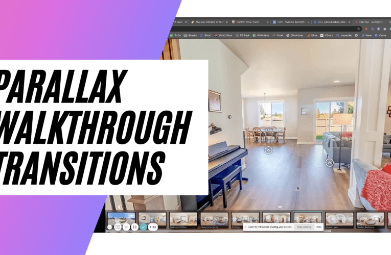 [New Feature] Parallax Walkthrough Transitions How To Create Lifelike Virtual Tours With 360º Photos