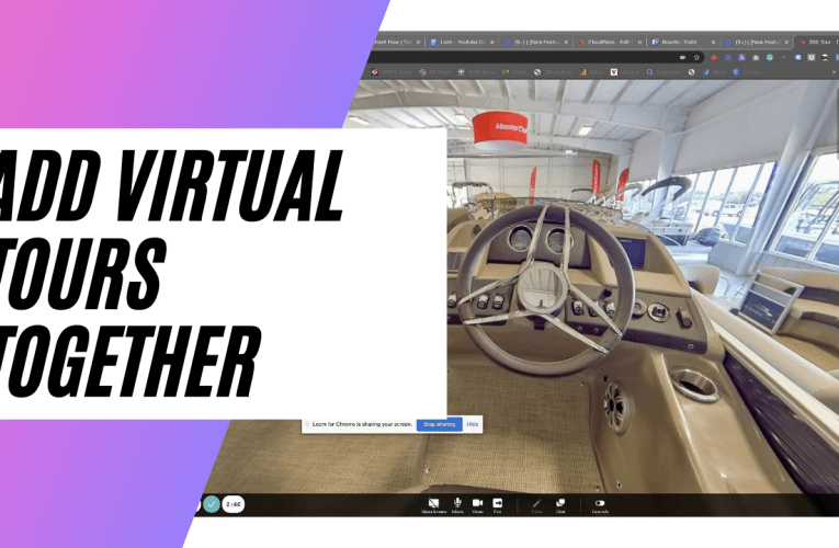 [New Feature] Collections – How To Add Virtual Tours Together In CloudPano.com Virtual Tour Software