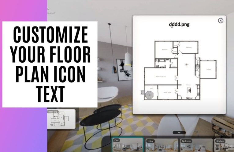 [New Feature] Customize Your Floor Plan Icon Text