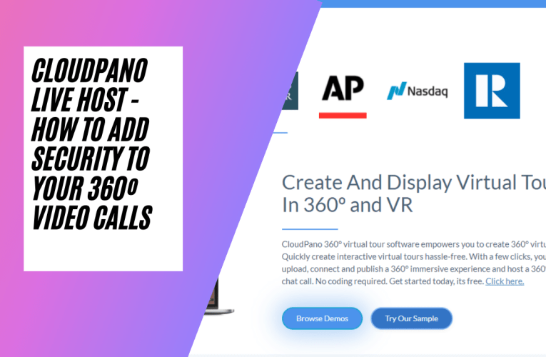 [New Feature] CloudPano Live Host – How To Add Security To Your 360º Video Calls