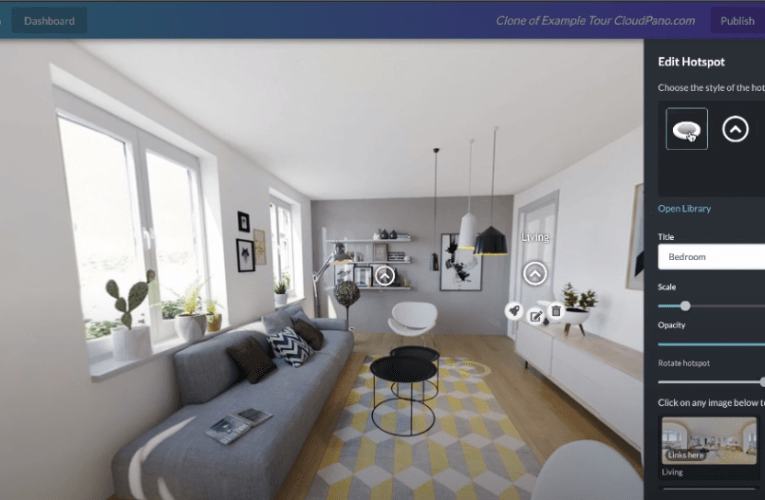 How To Add Hotspots Icons To The Floor With Your Virtual Tour Software