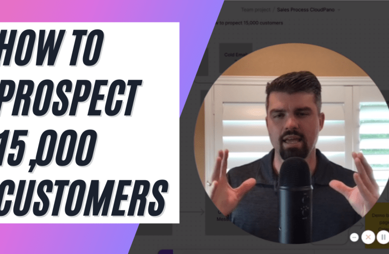 How To Prospect 15,000 Customers